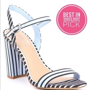 ✨HP✨NWT Gianni Bini size 8.5 block heel sandals